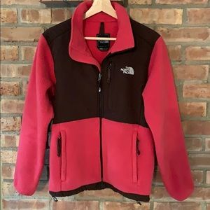 The North Face soft shell zip up